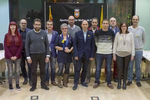 El tripartito independentista de Molins de Rei presenta el acuerdo de gobierno para lo que queda de mandato