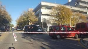La explosión se ha producido en el párking del número 6 de la calle Rossinyol