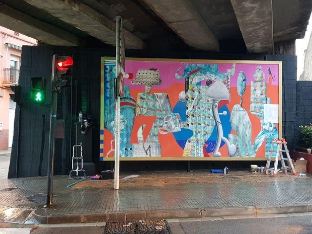 El auge de las 'galerías urbanas' llega a Sant Vicenç