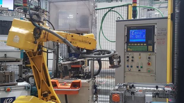 Interior de la nueva planta de producción de AMM en Viladecans