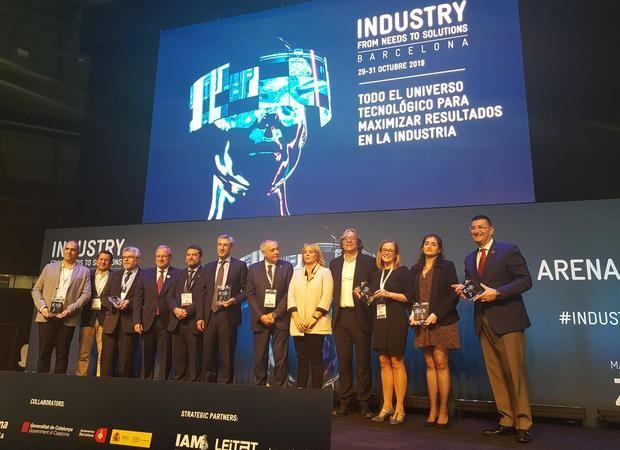 La 3D Factory Incubator, la primera incubadora europea de alta tecnología en impresión 3D, ha sido premiada en la 4ª edición de la feria Industry From Needs to Solutions