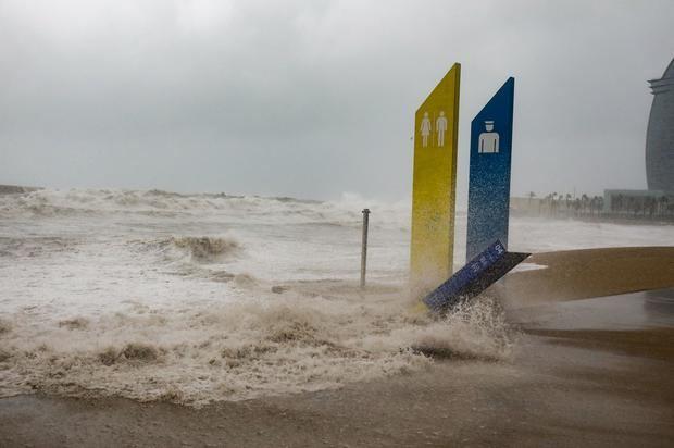 Preocupa el estado de las playas y la regresión de la arena.