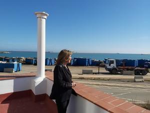 Marín abre el melón territorial y se muestra decidida a recuperar la playa para L'Hospitalet