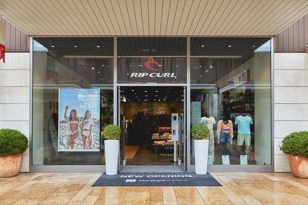 Rip Curl escoge The Style Outlets en Viladecans para la apertura de su única tienda outlet en España