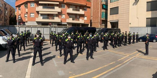 Paridad en los 23 nuevos agentes de Guàrdia Urbana de L'Hospitalet