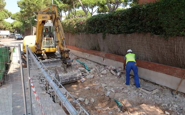 Intervenciones de mejora del espacio público en Gavà Mar