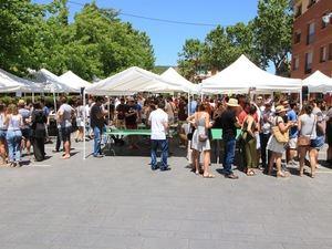 Celebración del Tapatast el año pasado en Begues.