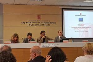 """Aragonès: """"El Baix ha de ser un dels motors de la innovació a Catalunya"""""""