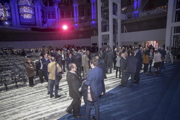 Una imagen del evento celebrado en el MNAC, al que El Llobregat asistió como invitado.