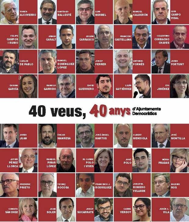 40 veus reflexionen sobre els 40 anys de democracia local