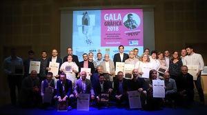 Premian a una estudiante de la Antoni Algueró de Sant Just Desvern en la Gala Gráfica
