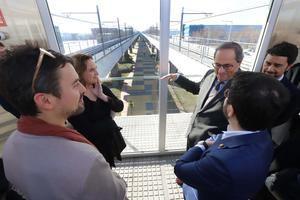 En marcha la nueva estación de metro de Zona Franca