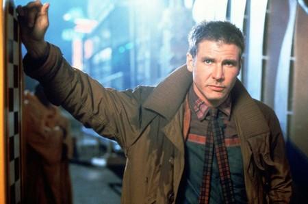 Harrinson Ford en su papel de Rick Deckard.