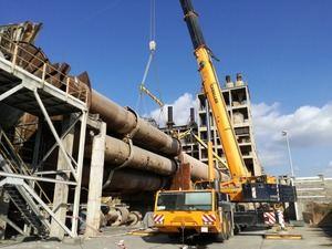 El desmontaje de la fábrica está previsto que finalice la primavera del año que viene.
