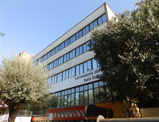 Sede de CCOO del Baix, ubicada en Cornellà.