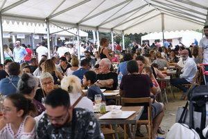 La Mostra de Cuina atrajo a un gran número de visitantes.