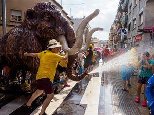 En la imagen, la fiesta de la Mamullada, que forma parte del programa de Fiesta Mayor.