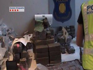 Doble operació policial contra al tràfic de drogues al territori