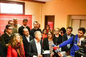 El socialisme del Baix defensa el municipalisme en un acte de germanor contra la llei ARSAL i les retallades socials