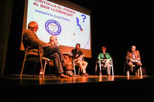 Els partits alternatius, protagonistes de l'enquesta i el debat polític d'El Llobregat