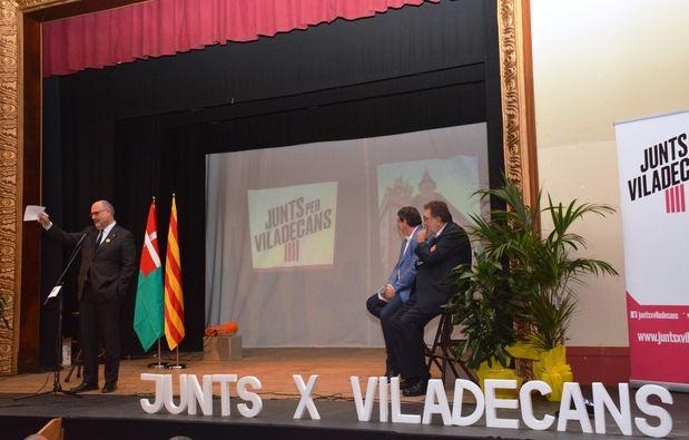 Junts per Viladecans se presenta y extiende su mano a ERC y la CUP para formar una lista independentista unitaria