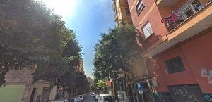 Un tramo de la calle Doctor Martí i Julià donde talarán árboles la semana que viene.