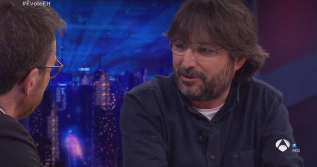 Évole durante su entrevista en 'El Hormiguero'