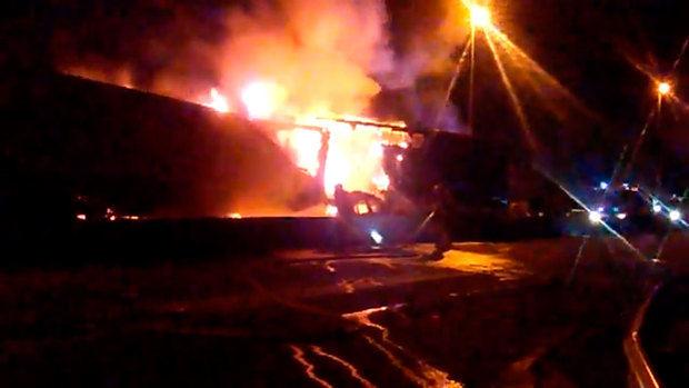 Accidente muy grave en la comarcal C-245 en Sant Boi con tres fallecidos