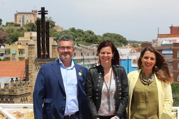 Maresma, Miranda y Candela, los líderes de ERC, PSC y Movem.