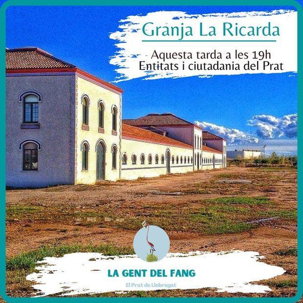 Entidades del Prat se reúnen en la granja de La Ricarda para impulsar un espacio unitario de ciudad
