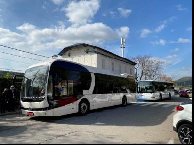 Acuerdos en la implantación de autobuses eléctricos en diferentes líneas que conectan con estaciones de Ferrocarril