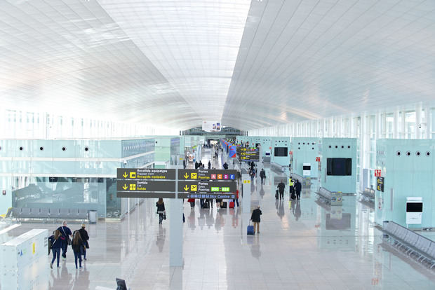 El aeropuerto registra un aumento de pasajeros del 2,5% en julio