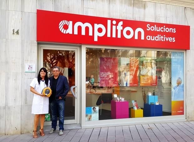 Amplifon, nuevo espacio cardioprotegido de Sant Boi
