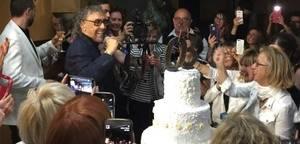 Un jovencísimo Lluís Llongueras, celebra su 80 cumpleaños