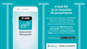 Las zonas azules de Sant Boi ya pueden gestionarse con la App metropolitana