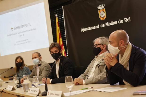 Arrancan las obras de la 2ª fase en la urbanización 'Les Guardioles'