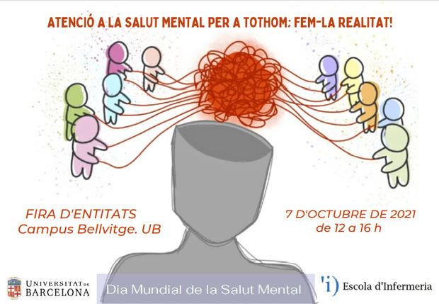 El Campus de Bellvitge de la UB celebra el Día Mundial de la Salud Mental