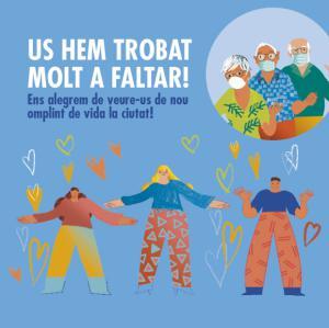 Los casales para personas mayores de L'Hospitalet de Llobregat retoman su actividad