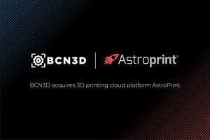 La multinacional catalana BCN3D con sede en Gavà compra la empresa AstroPrint