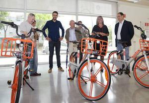L'Hospitalet estrena el servicio de bicicletas compartidas de Mobike