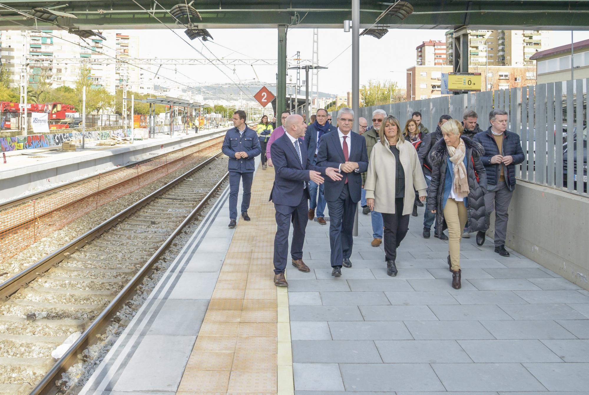 Los Ascensores De La Estación De Bellvitge Comenzarán A Funcionar En Primavera El Llobregat