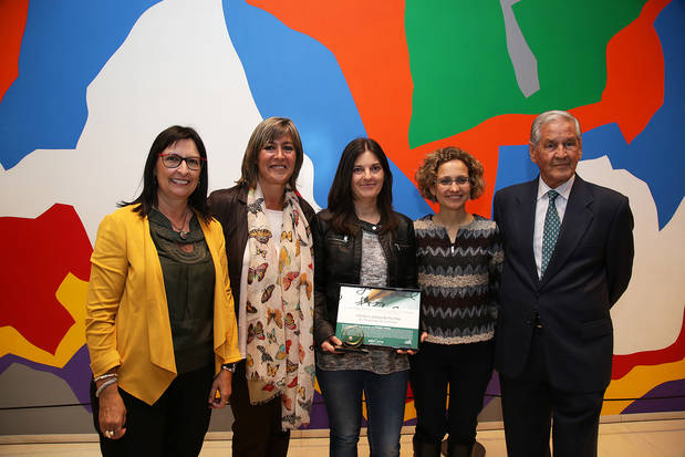 La Escuela Joaquim Ruyra recibe el premio de Ensenyament 2017