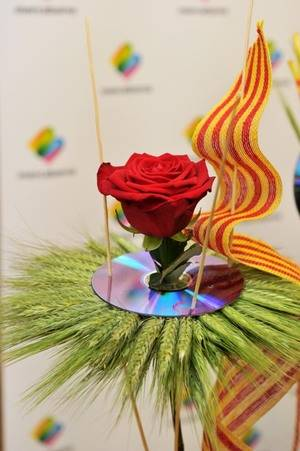 Mercabarna-flor augura una buena jornada para Sant Jordi