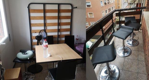Un vecino de L'Hospitalet monta un increible bar clandestino en su piso que cierra por su gran éxito