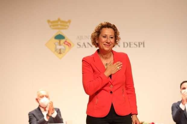 Belén García, la nueva alcaldesa de Sant Joan Despí