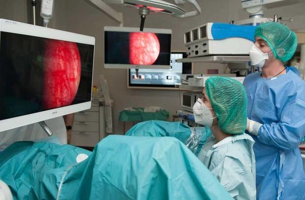 El Hospital de Bellvitge desarrolla un tratamiento pionero para la hiperplasia benigna de próstata
