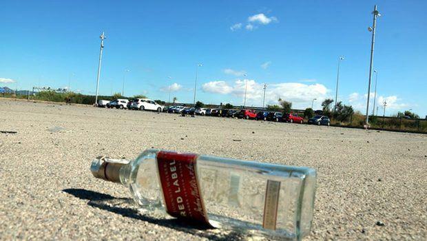 El botellón se celebró en un aparcamiento cercano al espacio natural del Remolar