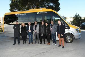 Cervelló inaugura un nuevo bus por demanda y dos Park&Ride
