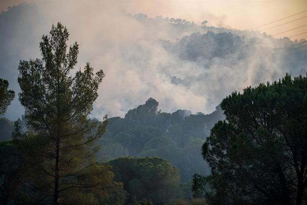Castellví busca a los propietarios de las fincas arrasadas por el incendio forestal de Valldaina