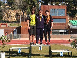 Oro, plata y bronce para el Club Atletisme Gavà